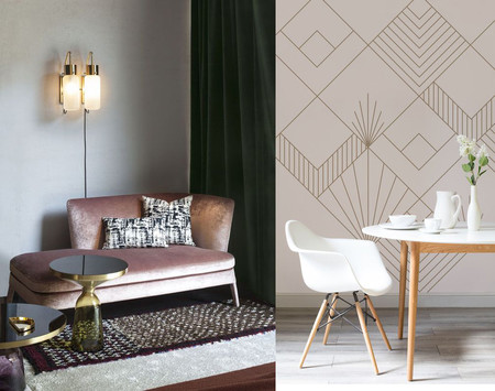17 ideas decorativas inspiradas en el estilo Art Deco