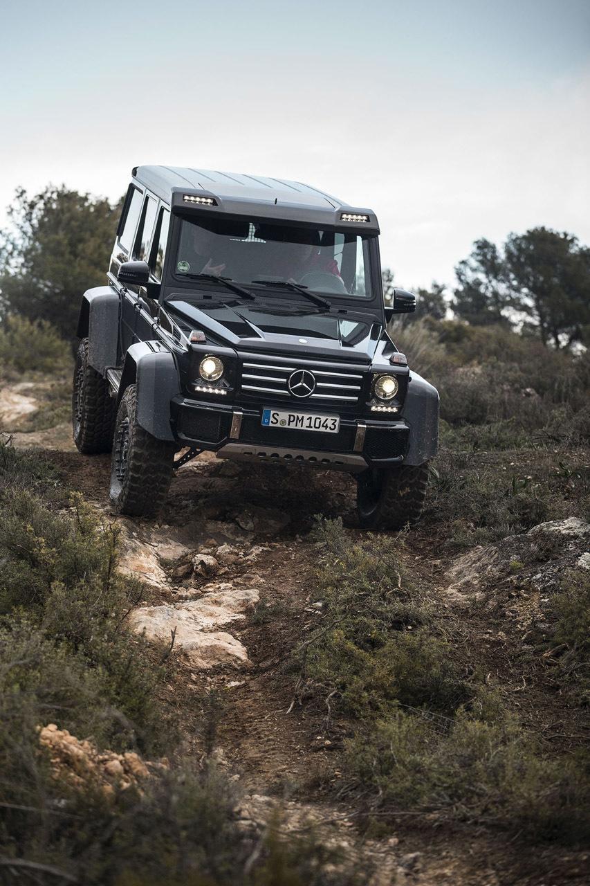Foto de Mercedes-Benz G 500 4x4², toma de contacto (112/127)
