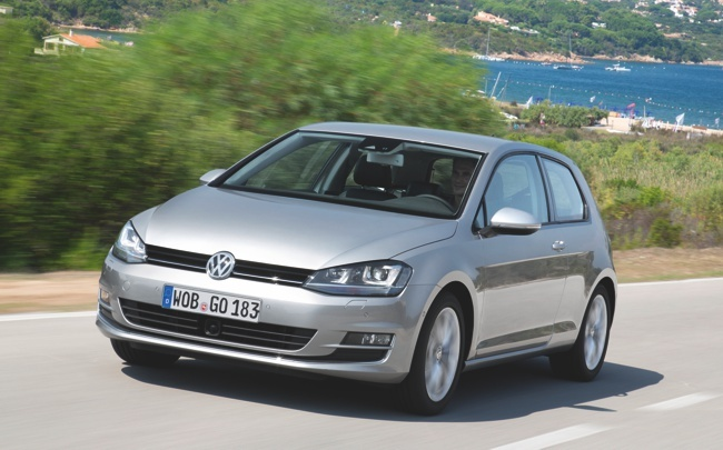 Volkswagen Golf MK7 carretera