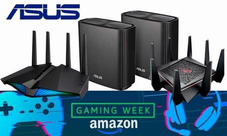 Ofertas en conectividad ASUS: la Gaming Week de Amazon te trae soluciones para mejorar tu red WiFi al mejor precio