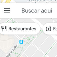 Google Maps añade una barra con iconos de acceso directo a las categorías más buscadas