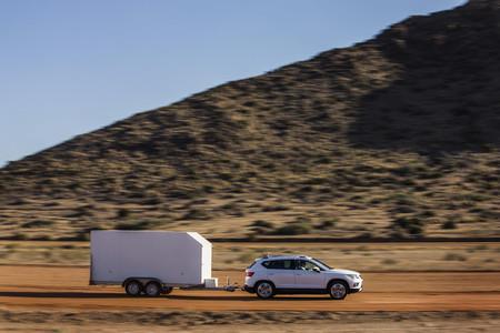 El SEAT Ateca sudó mucho en estas cinco pruebas extremas a 45 grados