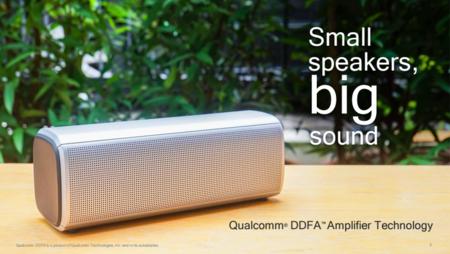 Qualcomm pone el punto de mira en los altavoces inteligentes y presenta una nueva solución de chips amplificadores integrados