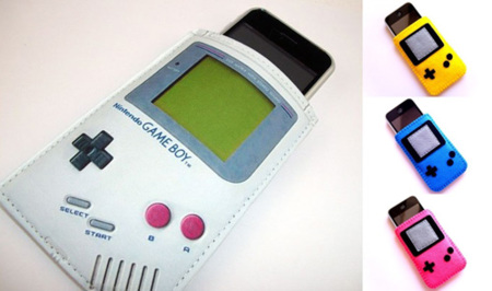 El iPhone se viste de Game Boy
