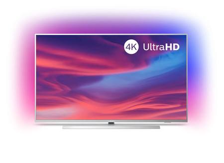 Smart TV 4K de 50 pulgadas Philips 50PUS7304/12, con Android TV y Ambilight, a precio de Black Friday en Amazon: 479 euros