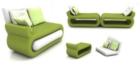 Quest, el sofá desmontable