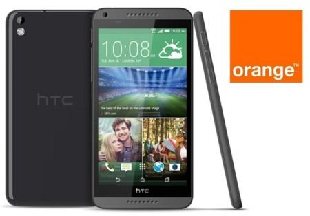 Precios HTC Desire 816 con Orange
