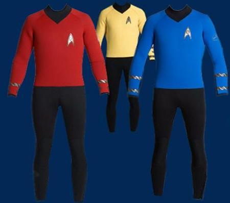 Traje de neopreno de Star Trek