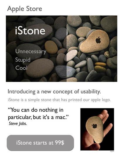 iStone: Lo más fuerte de Apple