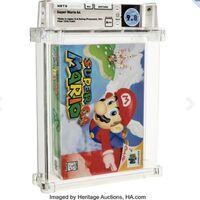 Este 'Super Mario 64' se vendió en 30 millones de pesos y se convierte en el videojuego más caro de la historia