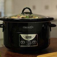 Por 46 euros tenemos la la olla de cocción lenta Crock-Pot SCCPRC507B-050 rebajada en Amazon