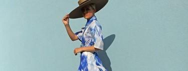 Las prendas estampadas podrían acompañarte en tu próximo look de invitada. Cinco (+1) propuestas perfectas para triunfar