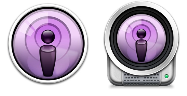 App Podcasts OS X