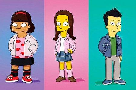 'Glee' en 'Los Simpson', la imagen de la semana