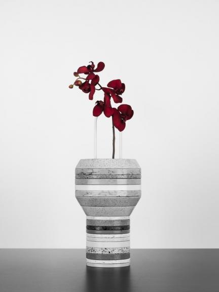 Slab Vases: jarrones realizados con anillos de Silestone®