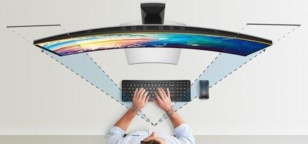 Si buscas monitor gigante, Dell estrena modelo curvo de 38 pulgadas con relación de aspecto 24:10