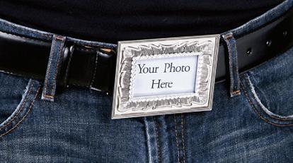 Cinturón y... ¿Marco de fotografías?