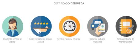 Desrueda Mexico Certificado Calidad