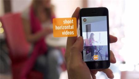 Horizon graba todos tus vídeos en horizontal, da igual como sujetes tu iPhone