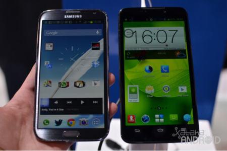 ZTE Grand Memo vs Samsung Galaxy Note II