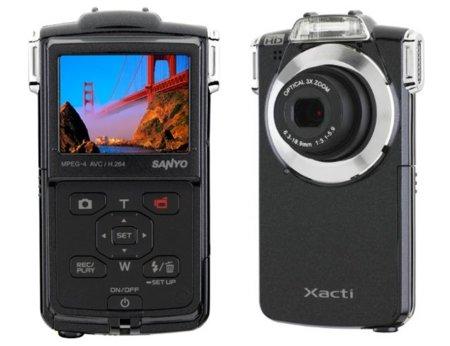 Sanyo se atreve a ponerle zoom óptico a una videocámara de bolsillo