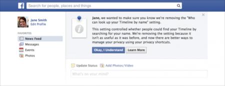 Ya no te podrás esconder de la búsqueda de Facebook