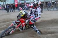 Dakar 2013: Gerard Farrés se presenta en la playa de la Barceloneta