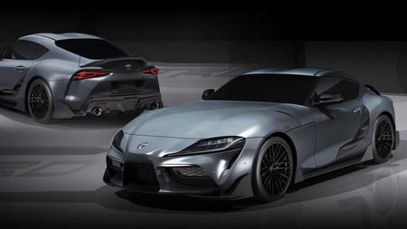 El Toyota GR Supra estrena chucherías aerodinámicas TRD con este Performance Line Concept