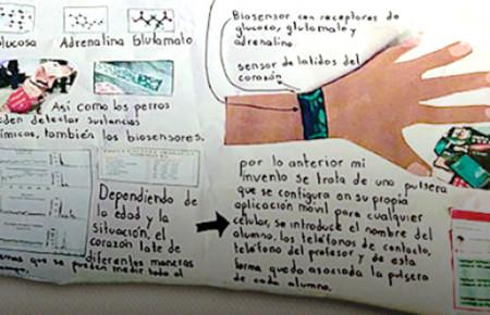 Niño mexicano crea pulsera antibullying