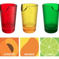 Mexicanas crean vasos y popotes comestibles de sabor a frutas