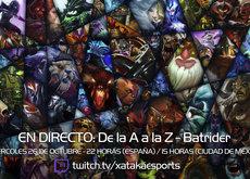 """Batrider en directo con la sección """"Dota 2 de la A a la Z"""" a las 22:00 horas (las 15:00 en Ciudad de México)"""