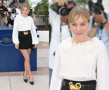Chloë Sevigny en el Festival de Cannes