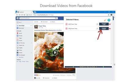 Bajar Videos Facebook