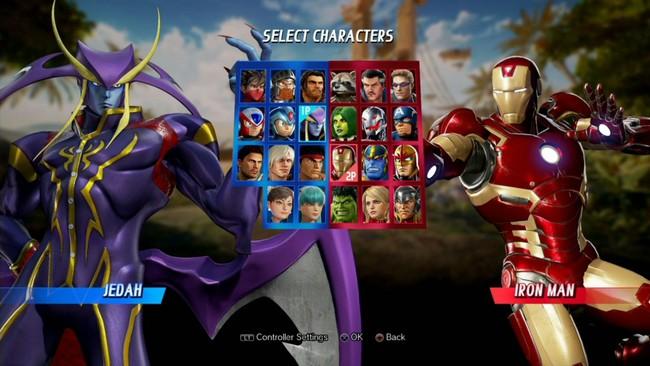 Marvel Vs Capcom Infinite Jedah