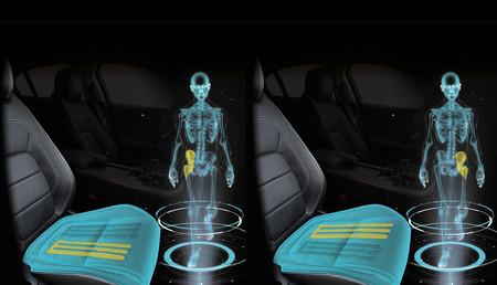 El asiento para coches de Jaguar Land Rover que simula que caminamos mientras vamos conduciendo