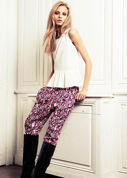 Pantalones baggy y de cintura elástica