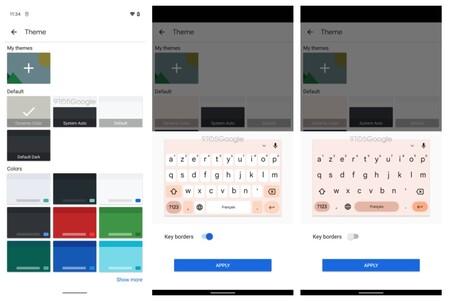Android doce en el teclado de Google