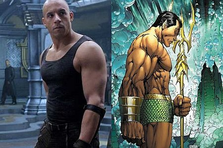 Vin Diesel quiere ser Namor