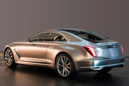 Hyundai Vision G Coupé se deja ver antes de Pebble Beach