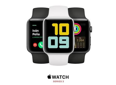 El reloj de Apple más barato que nunca durante el día de hoy: llévate un Apple Watch Series 3 por 186 euros con envío gratis
