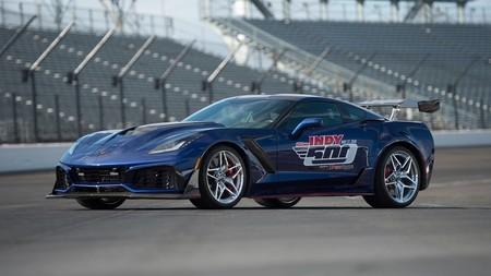 Este Chevrolet Corvette ZR1 es el 'pace car' más rápido y potente de la historia de la Indy 500
