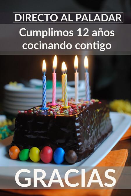 Estamos de aniversario y lo celebramos con las 25 recetas de Directo al Paladar que más os han gustado
