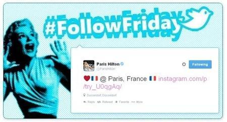 #FollowFriday de Poprosa: Paris se nos llena de celebrities