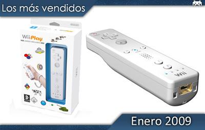 Los juegos más vendidos en España - Enero 2009