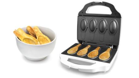 Edible Spoon Maker, un aparato para hacer cucharas comestibles que querrás en tu cocina