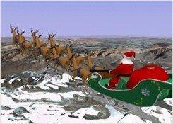 Papá Noel se va de viaje: un juego de Google Earth