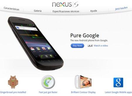 Nexus S está muy cerca y todo apunta a que Vodafone es el compañero de viaje