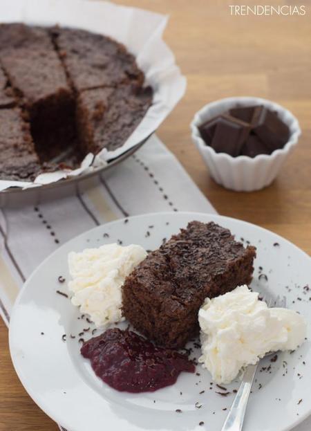 Receta de brownie express sin horno y una limonada con infusión de rosas en la quincena gourmet de Trendencias Lifestyle (XXV)