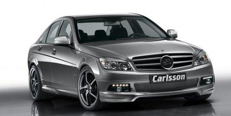 """Styling Kit"" Carlsson para el Mercedes Clase C"