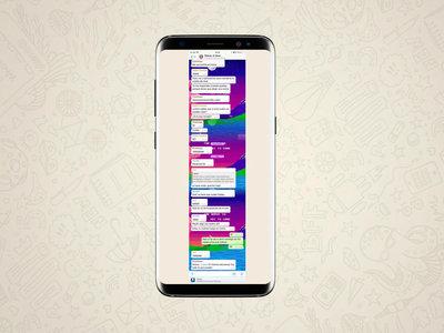 Cómo hacer una captura de pantalla de una conversación entera de WhatsApp en Android y iOS